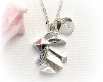 Rabbit Necklace, rabbit Jewellery, bunny necklace, kids necklace, bunny jewellery, bunny necklace, rabbit, best friends gift SFINBUNNY1