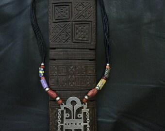 TUAREG BELLA,Tuareg amulet,African silver,ethnic jewelry,Tuareg silver,Tuareg talisman
