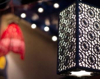 Roman-Inspired Hanging Pendant Lantern
