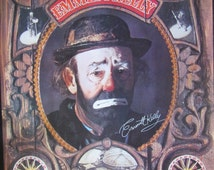 Emmett Kelly Clown Poster-1969 Jimini Productions