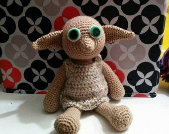 Dobby the House Elf Harry Potter Amigurumi Doll