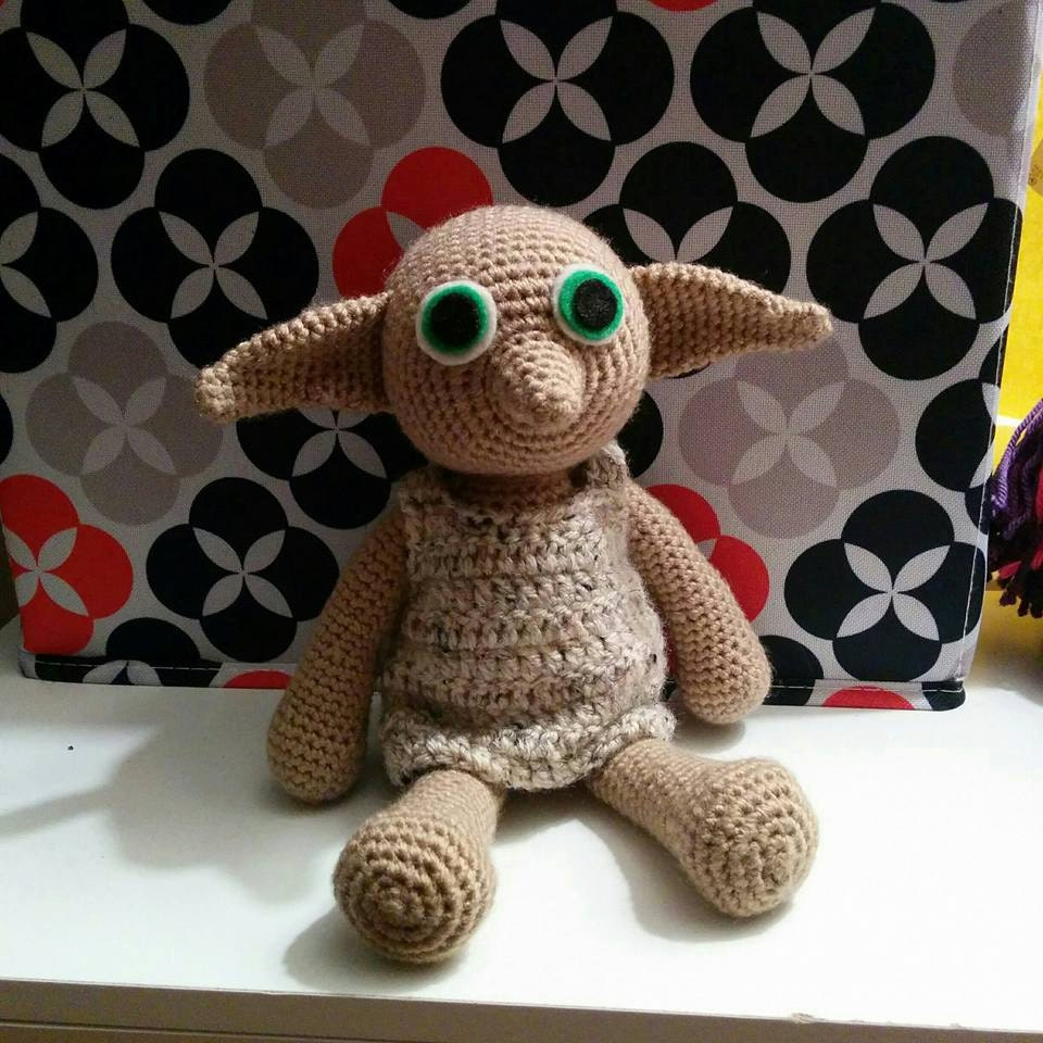 Amigurumi Doll House : Dobby the House Elf Harry Potter Amigurumi Doll - Zeppy.io