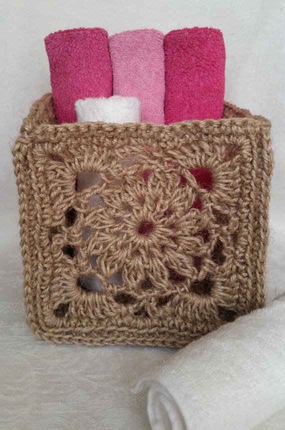 Towel Basket, Candy, Fruit & Vegetable Storage, Rustic Décor, Natural Basket, Storage Basket