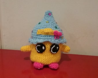 Handmade Cupcake Queen Shopkins Crochet Amigurumi Toy