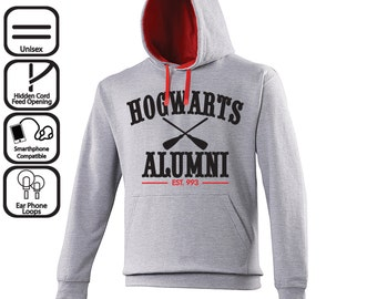 Hogwarts Alumni Harry Potter Unisex Hoodie - Gift Jumper - Sweatshirt Sweater