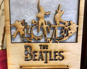 The Beatles Lamp
