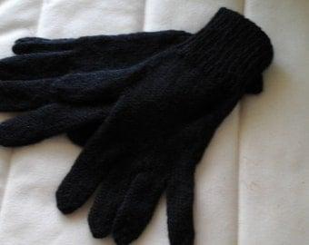 Gloves in handspun Alpaca