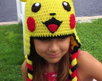 Free Crochet Pattern Pokemon Hat : Crochet Patterns and Designs by TOPstitchesCrochet on Etsy