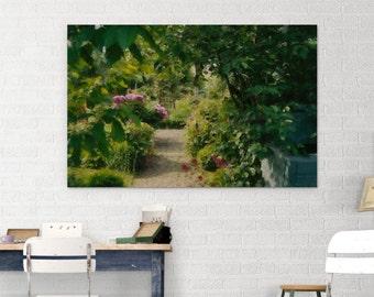 Garden impressions 01 canvas