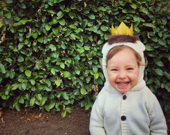 Where The Wild Things Are Crown, Max Crown, Wild One, Wild Rumpus Party Supplies, First Birthday, Wild Things Costume, Crown Photo Prop