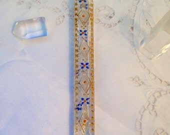 18th Century Crystal Vial for Smelling Salts, Crystal Dorures ..