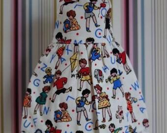 Alphabet Kiddie Dress * Blythe * Pullip *