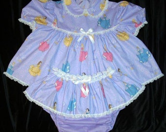 Adult Baby Sissy Shorty Dress Up Setskirted By