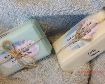 All Natural Scented and Unscented Handmade bar soaps