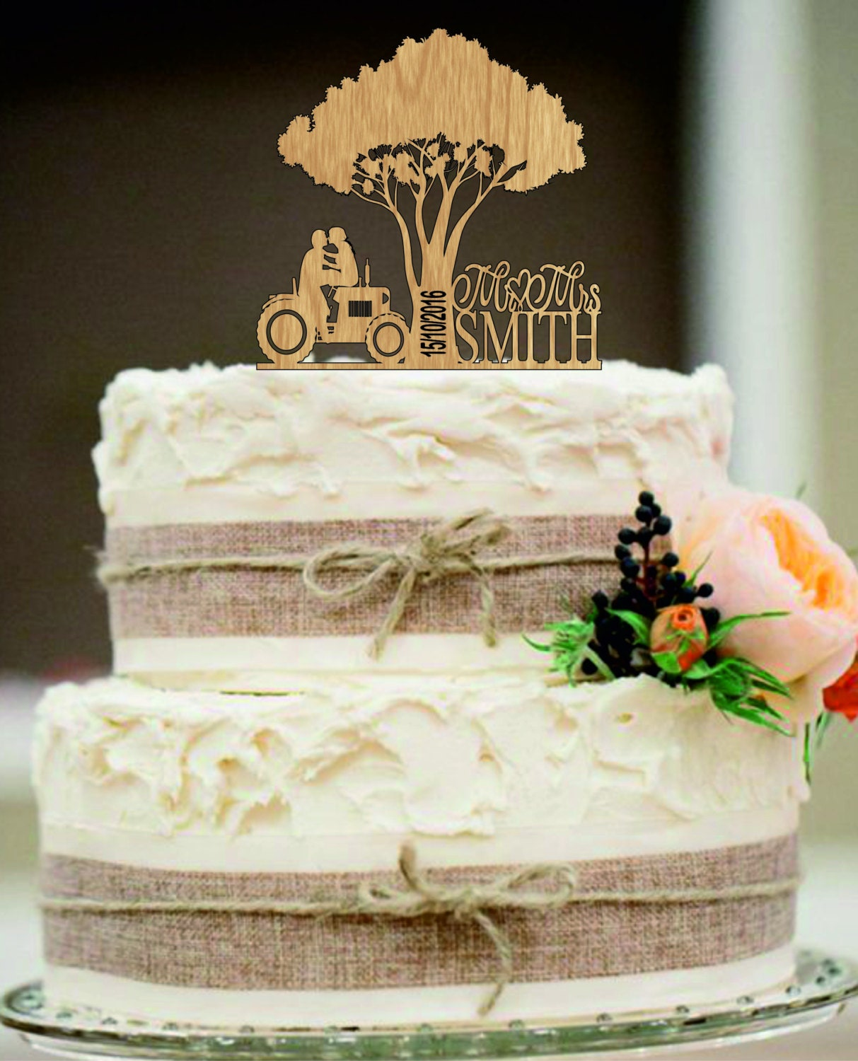 Country wedding cakes pictures -  Zoom