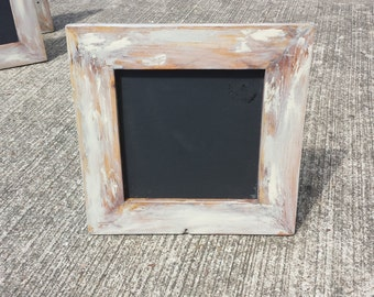 Shabby Chic Square Chalkboards/ Vintage Small Chalkboards/ Weathered Chalkboards/ Wedding Chalkboards/ Rustic chalk boards