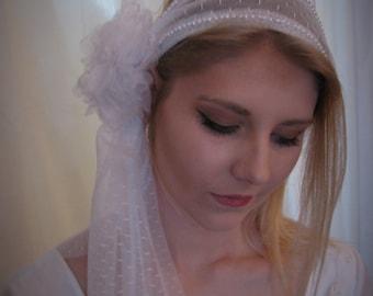 Veil, headband, boho style