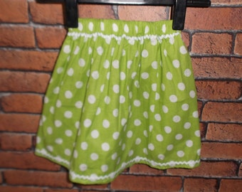 SKIRT GREEN 2Y