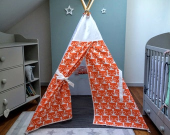 "Teepee ""Orange cats"""