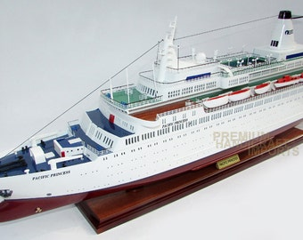 Pacific Princess - The Love Boat Model ready for display