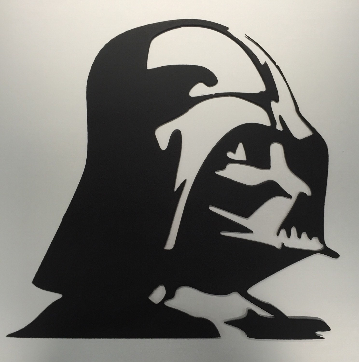 star wars metal wall art darth vader decor sign symbol