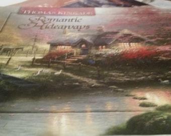 Thomas Kinkade Romantic Hideaways/ Book/ Paintings/ Thomas Kinkade Paintings 1997