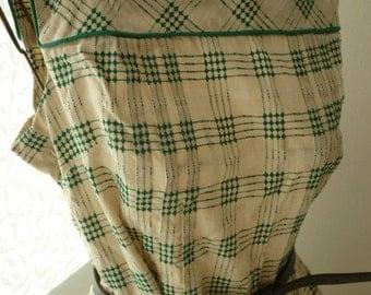 1950s Style Gingham Sundress (UK14)