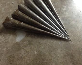 5 Medium Size Premium Quality Henna Cones