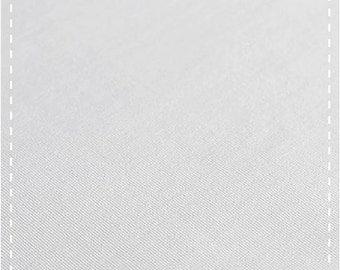 Organic Stretch Jersey Fabric - White