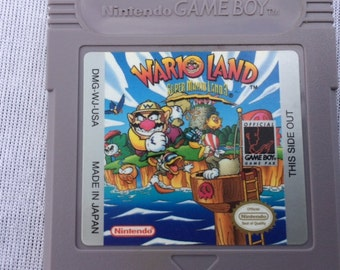 Wario Land Nintendo Gameboy - Super Mario Land 3 - Tested and Working