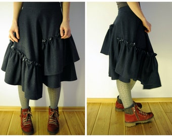 Wool Skirt - Wool and Cotton