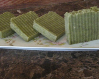 Lemongrass Sage - Organic Artisan Handmade Soap