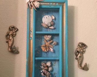 wall glass window box
