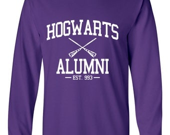 Hogwarts Long Sleeve Tee