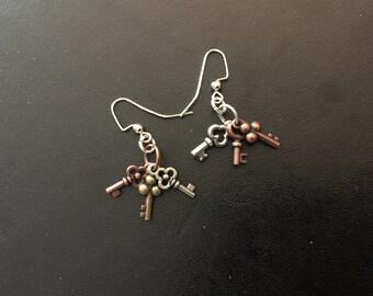 Set of Keys Earrings