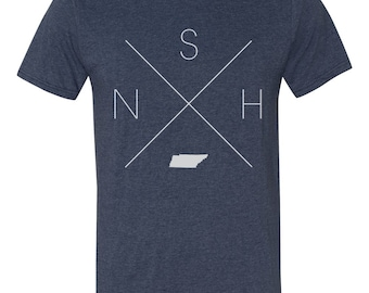 Tennessee Home T-Shirt – Nashville Shirt, NSH Shirt