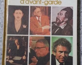 Book avant garde literary movements. Library Laffont.1975