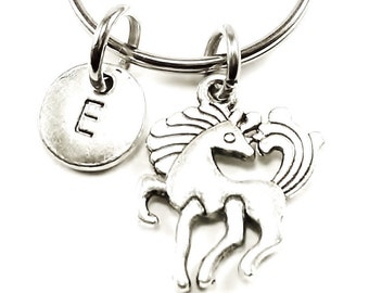 Pony keyring, keychain, bag charm, purse charm, monogram personalized item No.206