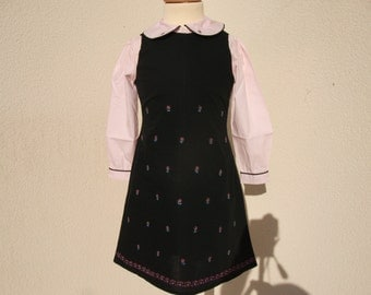dress baby girl 6-9 months, 12 months, 2 years, 4 years, all baby, dress and shirt cotton