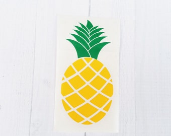 Pineapple decal | Pineapple | Pineapple Monogram | Be a Pineapple Stand Tall | car decal | iPhone decal | Yeti cup decal | laptop decal