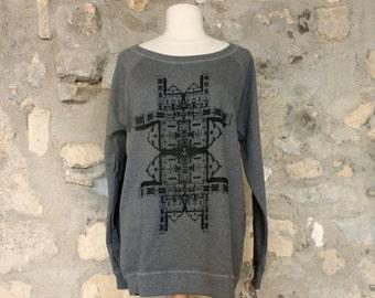 Screen Printed Women's Sweatshirt