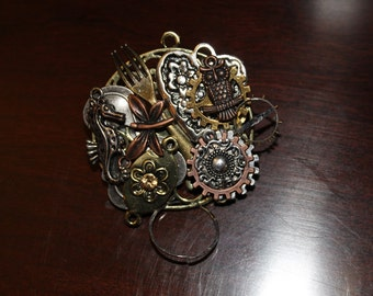 CLEARANCE 40% OFF -A0015-Steampunk Pin/Broche/Necklace
