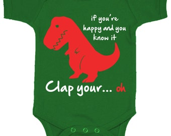 Trex Baby Bodysuit