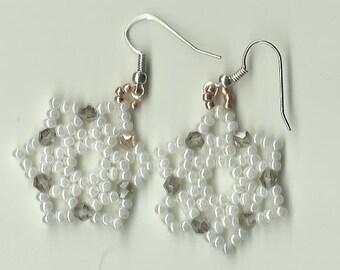 Happy Snowflake Earrings