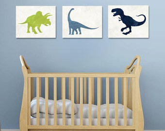 Dinosaur Nursery - Dinosaur Decor - Dinosaur Wall Art - Dinosaur Nursery Art - Nursery Decor - Baby Boy Nursery - Dinosaur Print - Printable