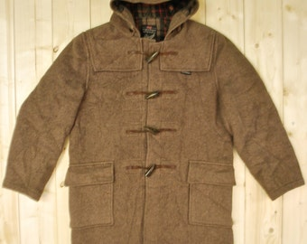 Vintage 1960's GLOVERALL DUFFLE Coat / Made in England / Retro Collectable Rare