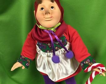 Hidden Kingdom, Brinn's Doll, Pooder Snoot, Elf, Pixie, Gnome, Limited Edition Doll 1990