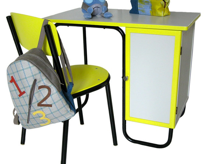 98 kids desk stool