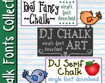 Chalk Fonts Collection Download