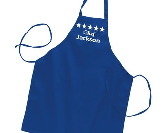 Mens Apron, Personalized Aprons, Father's Day Gift, Mens Gift, Gifts for Husband, Groomsmen Gift, Gifts for Dad, Grill Aprons- ANY NAME